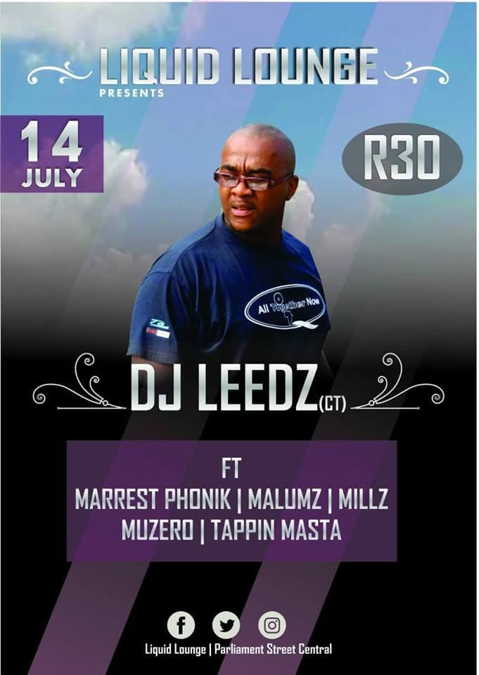 Liquid Lounge 14 July